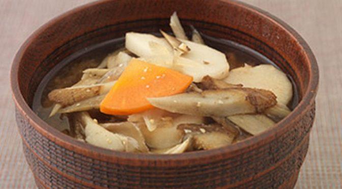 根菜タップリ鍋と女王のオイル