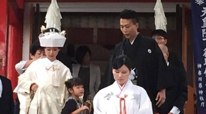 元町厳島神社での結婚式